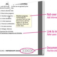 PDF interactive features